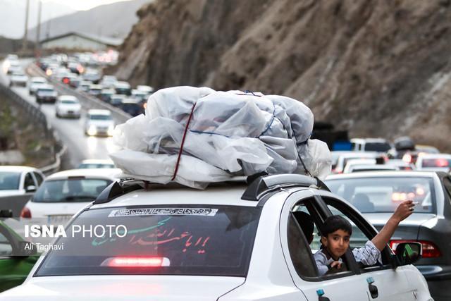 اعلام محدودیت های ترافیکی محورهای مازندران